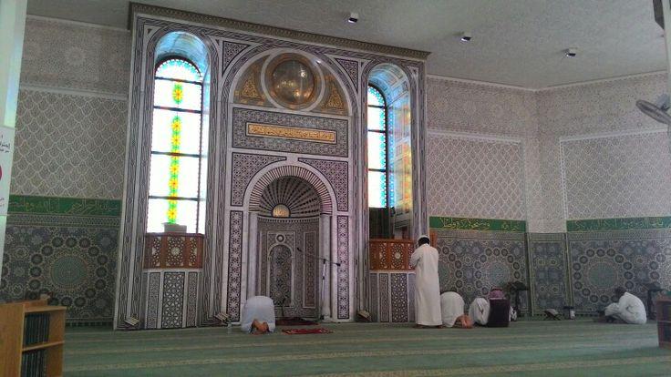 Dalam Masjid Terapung