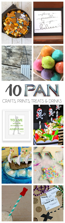 10 Pan Crafts, Prints, Treats
