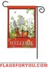 Pocket Garden Welcome Garden Flag - 2 left