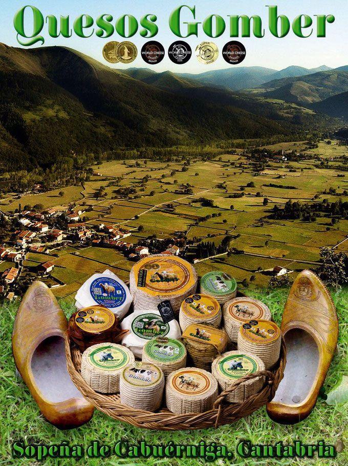 Quesos Gomber, Cantabria