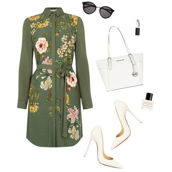 💚 by flowersxrockstars on Polyvore featuring polyvore, fashion, style, Oasis, Christian Louboutin, MICHAEL Michael Kors, Yves Saint Laurent, Sigma, Marc Jacobs and clothing