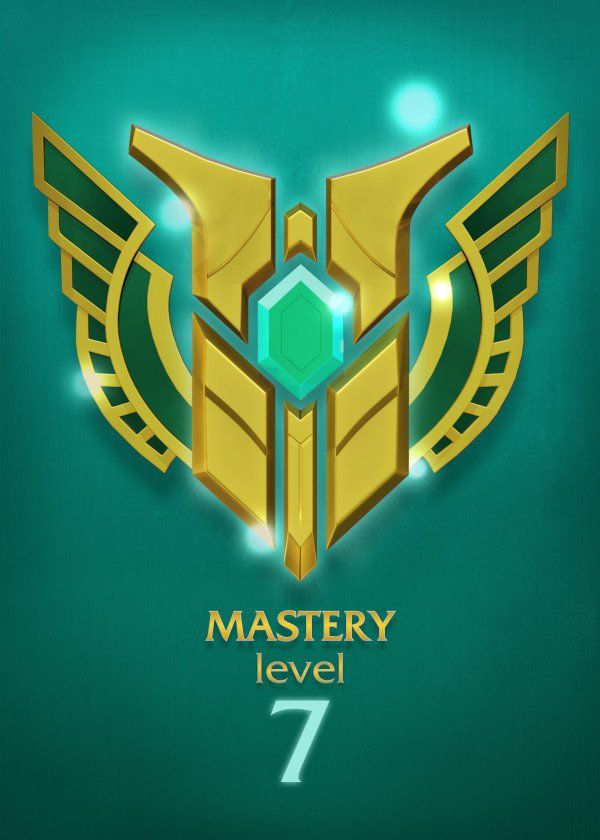 Mastery Lvl 7 Mastery Lvl 7 Gallery Quality Print On Thick 45cm 32cm Metal Plate Each Displate Print Veri League Of Legends Logo Art Logo League Of Legends