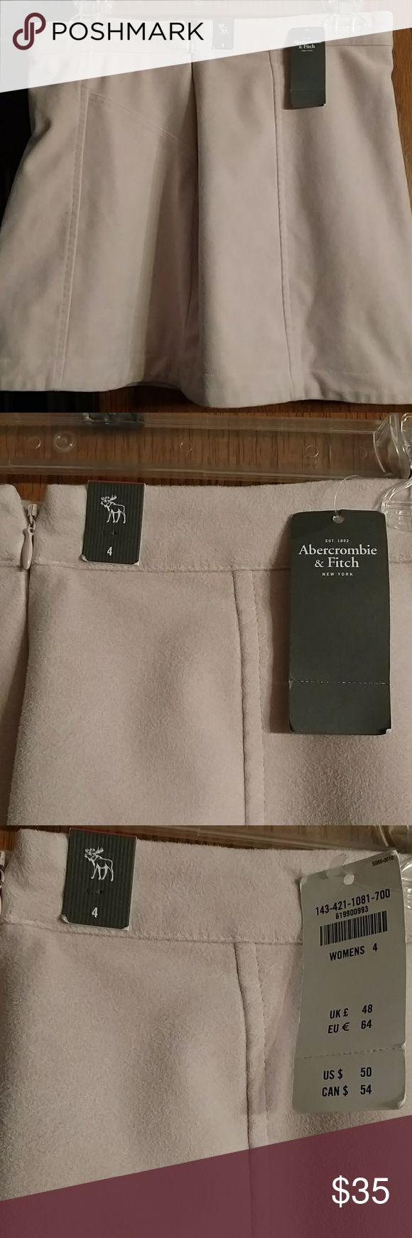 Abercrombie and Fitch Mini Skirt NWT Abercrombie and Fitch Mini Skirt NWT. Cream Abercrombie & Fitch Skirts Mini