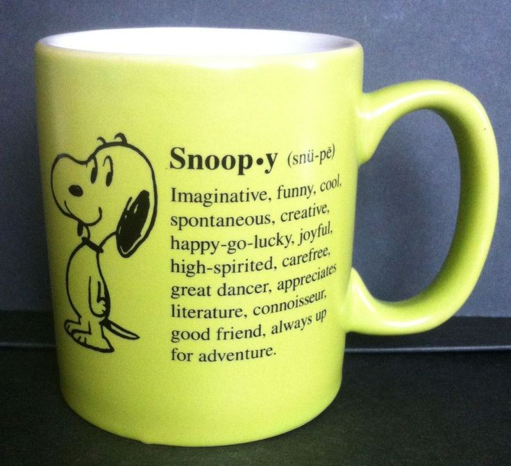 64 best Peanuts Mugs images by Sara Welch on Pinterest