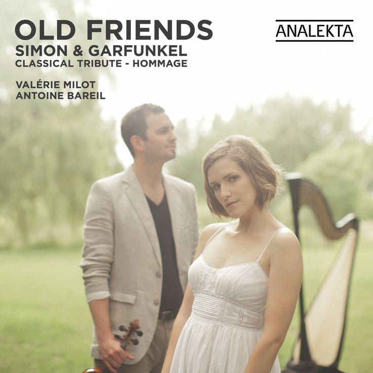 Hommage à Simon & Garfunkel par Valérie Milot, harpe et Antoine Bareil, violon. Musique classique / Classical Music. Production Analekta