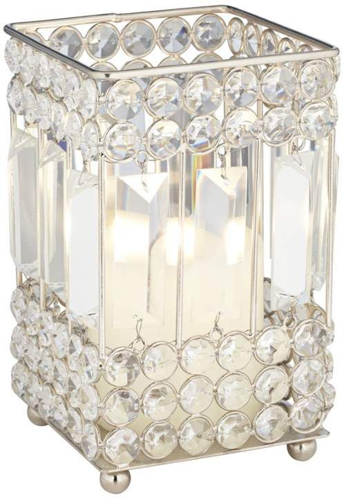 Cristalis Prism Small Crystal 4-Inch-W Candleholder #interior_design #home_accessories See more http://www.eurostylelighting.com/home+accessories-category/search.htm