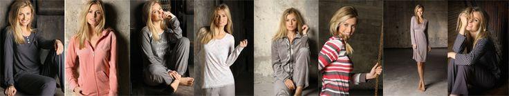Dames in pyjama van het merk Pastunette
