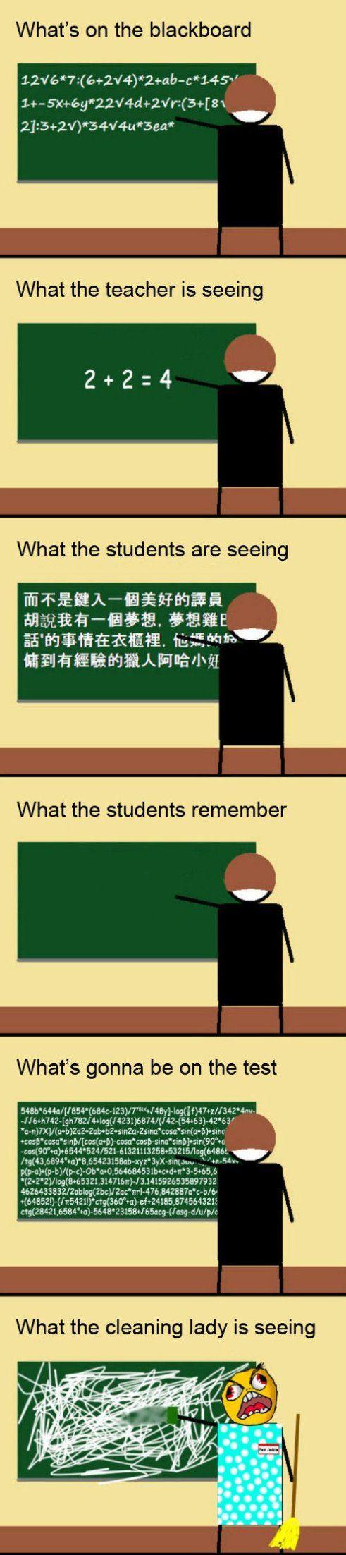 College Teacher Blackboard meme lol memes