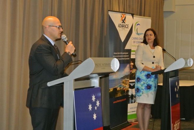 Opposition Leader Annastacia Palaszczuk has called on the people of far north Queensland to send Campbell Newman a message at the next election and reject his asset sales agenda. Visiting Barron Go... http://therocknews.wordpress.com/2014/11/13/lnp-sell-off-fnq-electricity-assets-but-labor-to-focus-on-jobs/