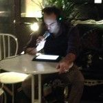 Giovanni Gastel Jr @ Silent reading Nobook per Bookcity