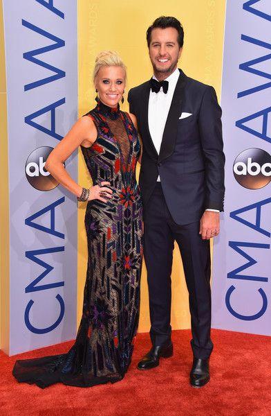 Luke Bryan Photos Photos - Caroline Boyer and Luke Bryan attend the 50th annual CMA Awards at the Bridgestone Arena on November 2, 2016 in Nashville, Tennessee. - The 50th Annual CMA Awards - Arrivals