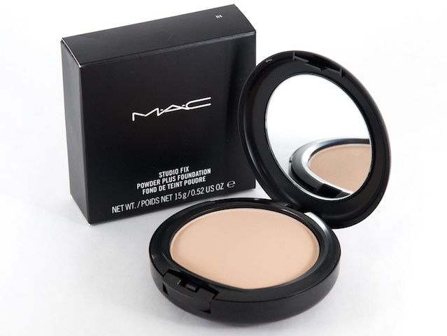 Mac  STUDIO FIX POWDER FOUNDATION- can use to set foundation or use alone as powder foundation, roll it onto skin (don't dab or buff)