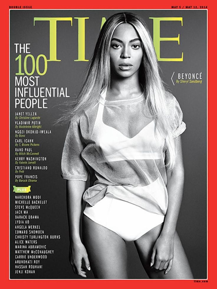 "Meet one of ""Time Magazine's"" most influential people - Beyoncé! Miss Knowles (Mrs. Carter to Jay-Z, and Mommy to Blue Ivy) is honored as a role model to dare women to take the lead. Three other covers this week honor Robert Redford (actor, director, Sundance spark); Mary Barra (the woman driver of GM) and Jason Collins (an NBA gamechanger as a gay player)."
