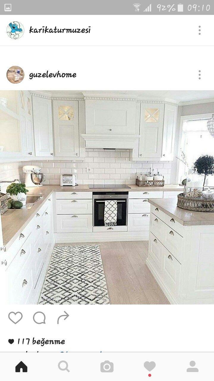 70 best kjøkken inspirasjon images on Pinterest   Dining room, Home ...