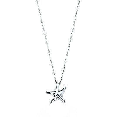 Tiffany and Co Starfish Sterling Silver Necklace