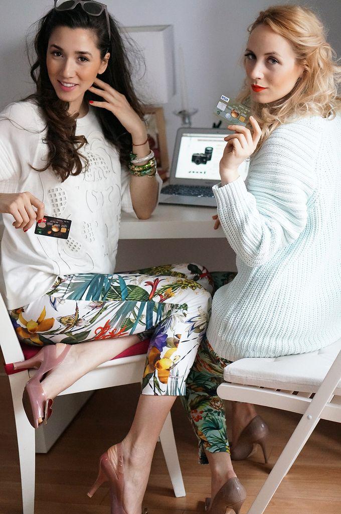fabulous shopping online with diana enciu and alina tanasa and otp bank.