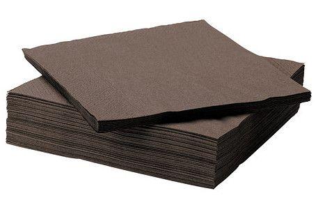 serwetki brązowe 40x40 cm http://vinetti.pl/search.php?text=serwetki www.vinetti.pl