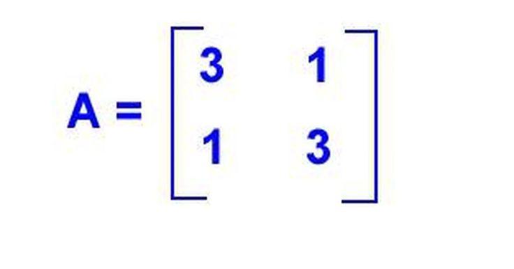 """Como calcular autovetores. Às vezes, é necessário encontrar um vetor não nulo que quando multiplicado por uma matriz quadrada nos dá um múltiplo do vetor. Este vetor não nulo é chamado de """"autovetor"""". Autovetores interessam não só a matemáticos como também a físicos e engenheiros. Para calculá-los é necessário entender matrizes, álgebra e determinantes."""
