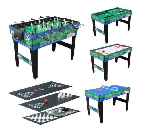 Game Tables For Game Room Foosball Table Football Soccer Multi 10in1  Combination #TriumphSports