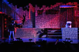 You can tell that in this photo the mood is happy as the lighting colour is a nice happy bright colour(happy stage lighting design - Google Search)