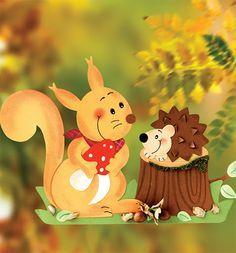süni és mókus