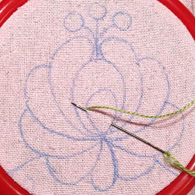 Matyo Rose Embroidery Tutorial