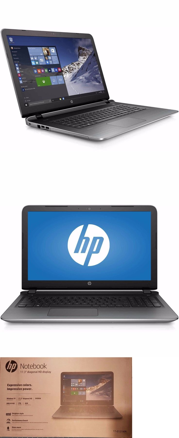 general for sale: New Sealed Hp 17.3 Pavilion 17-G121wm Laptop Notebook Amd A10-8700P 8Gb Ram 1Tb -> BUY IT NOW ONLY: $379 on eBay!
