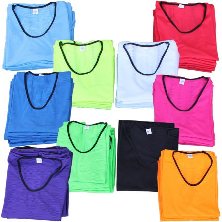 Mesh Training Bibs - http://sportnetting.co.uk/collections/football-training-equipment/products/diamond-mesh-training-bibs-bulk-buy