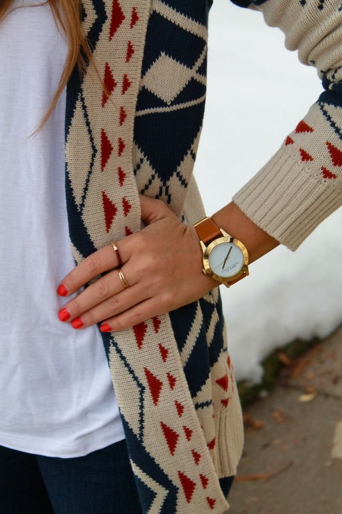 Fall. LOVE the watch and rings!