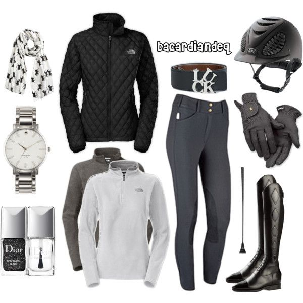 """Inspired by North Face"" by bacardiandeq on Polyvore"