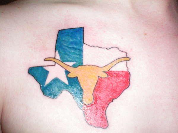 The 25 best longhorn tattoo ideas on pinterest half for Texas longhorn tattoo