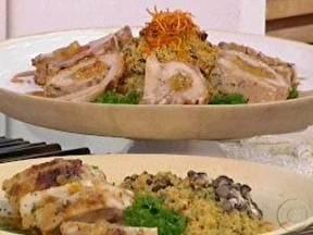 Lombo Recheado Com Geléia de Abacaxi e Pimenta - Foto de Mais Você na TV