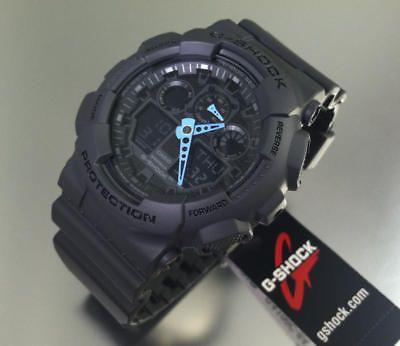 Casio G-Shock Military Analog Digital Gray Watch GA100C-8A