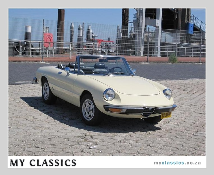 361 best images about Alfa Romeo Spider Veloce on Pinterest