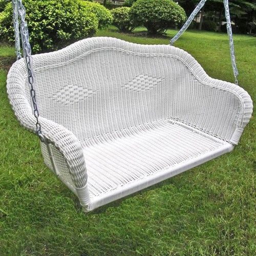 die besten 25 wicker swing ideen auf pinterest. Black Bedroom Furniture Sets. Home Design Ideas