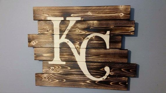 Kansas City Royals by CarolinaPalletDesign on Etsy