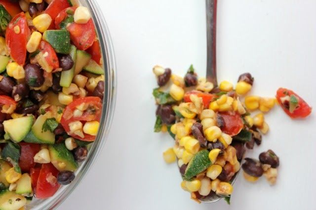 Zucchini and Corn Salad Recipe