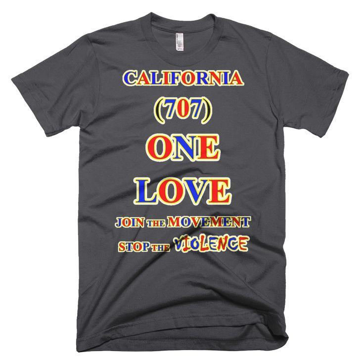 CALIFORNIA ... Area Code 707 ... ONE LOVE