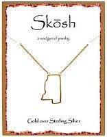 skosh mississippi gold skosh jewelry