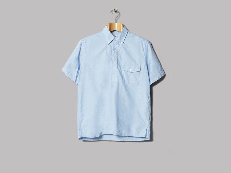 Battenwear Sport Pullover (Sky Cotton Oxford)
