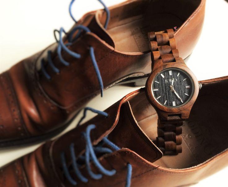Nous avons eu la chance de tester les montres en bois JORD. En voici quelques clichés.