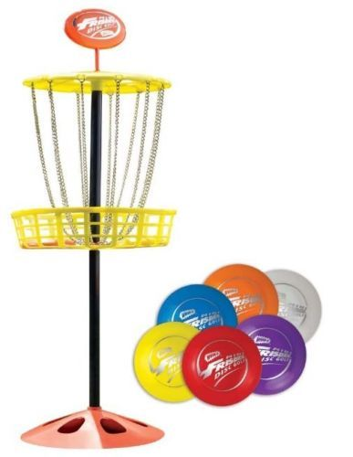 Mini-Frisbee-Golf-Disc-Wham-O-Toy-Set-Indoor-Outdoor-Kids-Adult-Game-Ages-5-Up