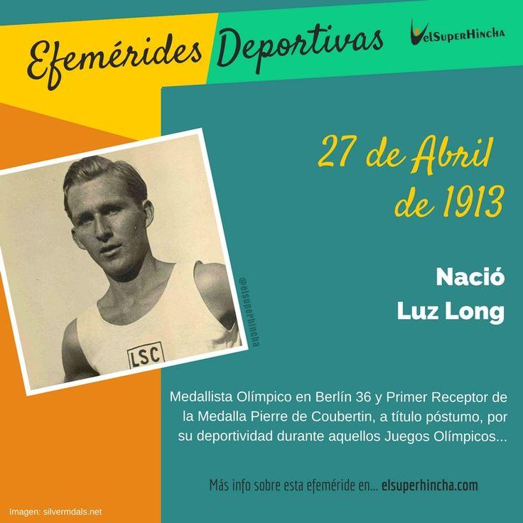 Luz Long fue un atleta alemán que ganó la medalla de plata en salto de longitud en los Juegos Olímpicos 1936. Pero en realidad se hizo famoso por ser quien aconsejó a Jesse Owens para clasificar a la final donde le arrebató la Medalla de Oro. No sólo le aconsejó sino que fue el primero en felicitarle mientras Hitler abandonaba el estadio por la segunda medalla del afroamericano. Estos gestos le sirvieron para convertirse en el primer condecorado, a título póstumo, con la Medalla Pierre de…