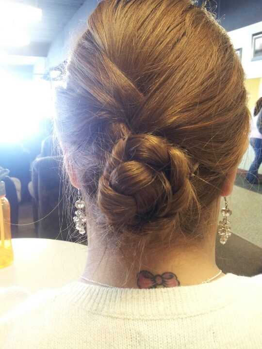 Hair Buns For Work 52