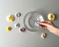 Опыты для детей! Бумажные цветы лотоса. - Поделки с детьми | Деткиподелки