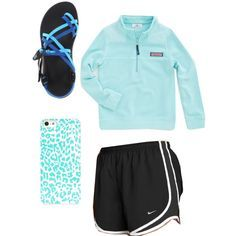 nike shorts with preppy outfit - Google Search