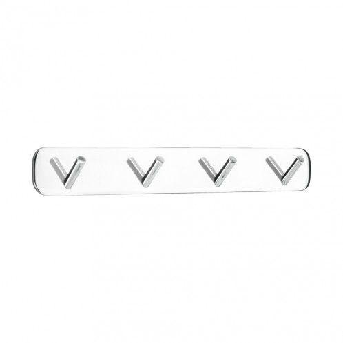 Solid 4 - Krok / Borrfri Montering - Krom - Beslag Design #Allabeslag #BeslagDesign #borrfri #krok