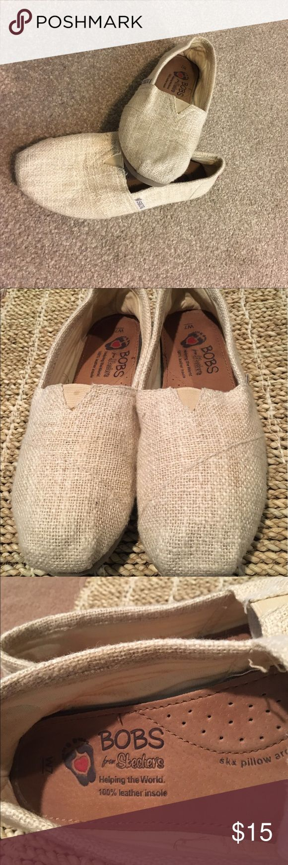 BOBS from Skecher's (sz7M) Color creamy wheat   🌾 Bobs Shoes Flats & Loafers