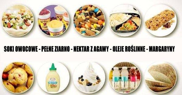 11 zdrowych produktów, które tak naprawdę są nie zdrowe