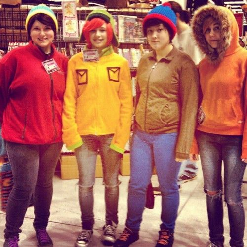 cosplay of the day gender bending south park - Southpark Halloween Costumes